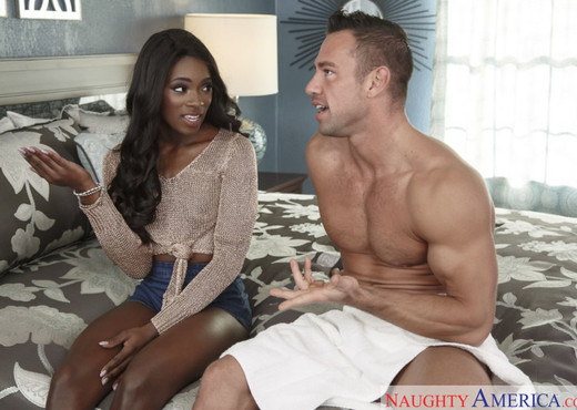 Ana Foxxx - My Sister's Hot Friend - Ebony TGP