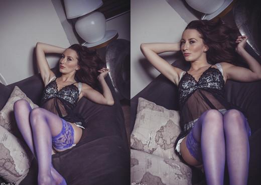 Sophia Smith - A New Direction - Sophia's Sexy Legwear - Solo Image Gallery