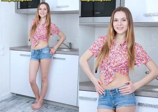Karissa - Kitchen Cutie - Naughty Mag - Amateur Hot Gallery