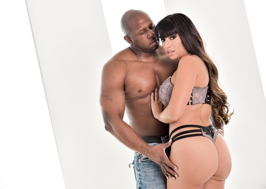 Prince Yahshua & Mercedes Carrera - DarkX - Interracial Sexy Photo Gallery