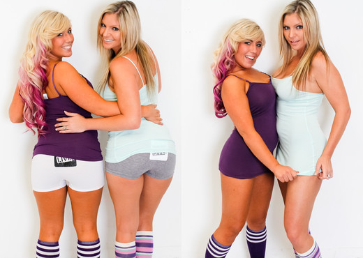 Brianna Brooks & Heidi Hollywood - Immoral Live - Pornstars Sexy Photo Gallery