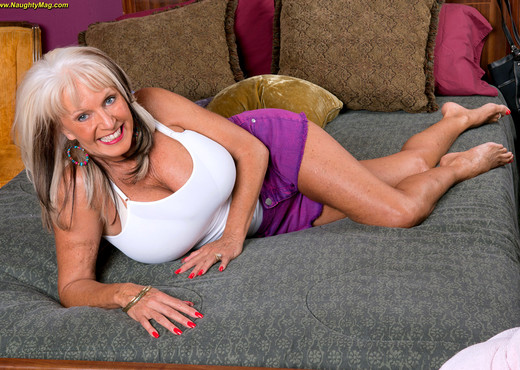 Sally D'Angelo - A Sexed-up Gilf - Naughty Mag - Amateur Nude Gallery