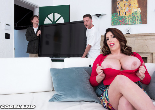 Amaya May - First Double Penetration - ScoreLand - Boobs HD Gallery