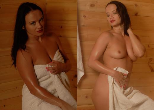 Natahlia - Natahila Sauna - Hayley's Secrets - Solo Nude Gallery