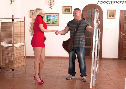 Sandra Star - The Working Mans Ultimate Fantasy - ScoreLand - Boobs Porn Gallery
