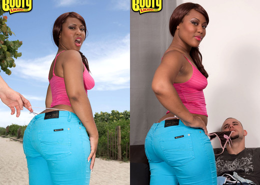Luscious Louis - Booty Hunt - Bootylicious Mag - Ebony Picture Gallery