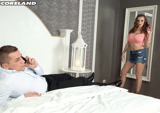 Suzie Sun - Suzie Gets The Business - ScoreLand - Boobs Picture Gallery