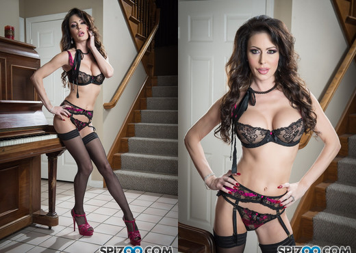 Jessica Jaymes Piano Lesson - Spizoo - Solo Sexy Photo Gallery