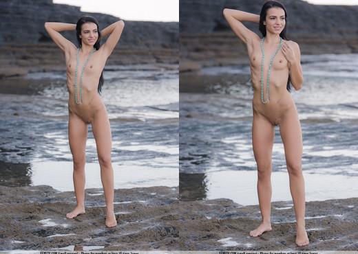 Stone Pool - Sapphira - Femjoy - Solo Nude Pics