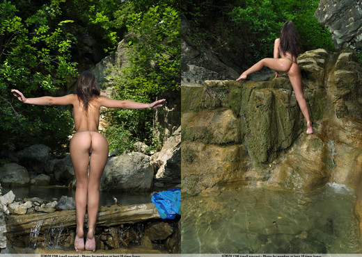 By The Rill - Melina D. - Femjoy - Solo Sexy Gallery