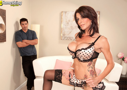 Blake James - The Horny Hair Stylist - 40 Something Mag - MILF Porn Gallery