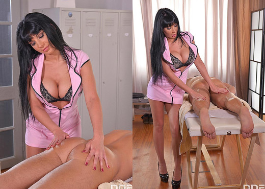 Sultry Touch: Cum All Over Big Tits During Lunch Break - Hardcore Porn Gallery