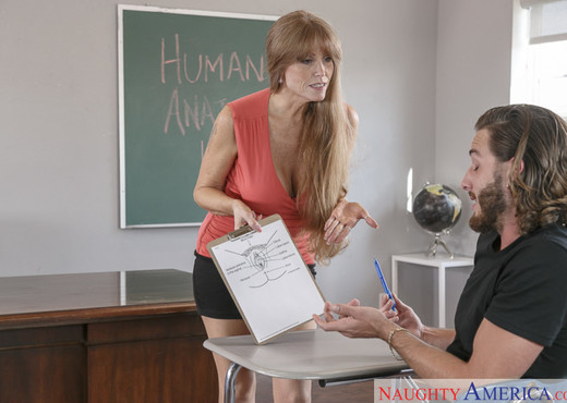 Darla Crane - My First Sex Teacher - Hardcore Nude Pics