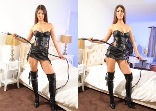 Sabrina C Leather - Strictly Glamour - Solo Sexy Gallery