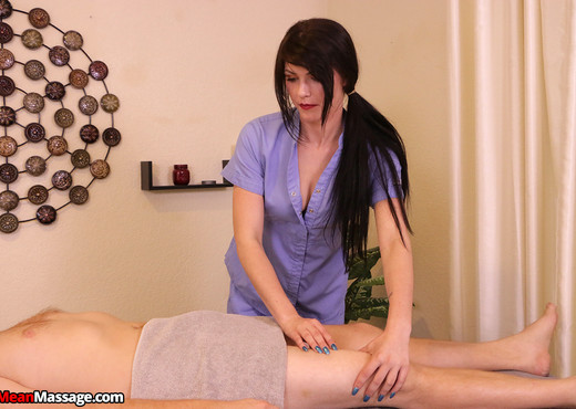 Sensitivity Training with Megan Malibu - Mean Massage - Hardcore Sexy Photo Gallery