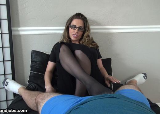 Sienna Lopez - Demanding Boss Milks Her Intern - MILF Nude Pics