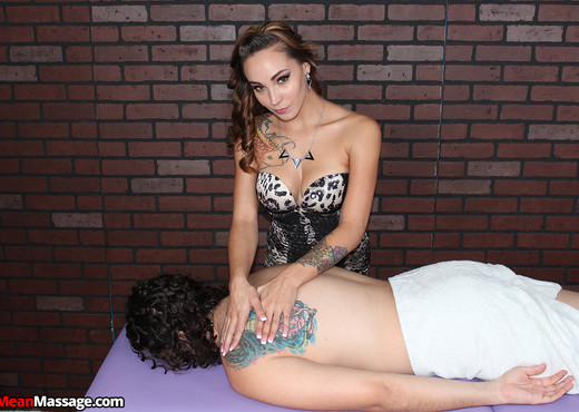 Sasha Foxxx - Sasha Foxx: Ruin Him - Mean Massage - Hardcore Picture Gallery