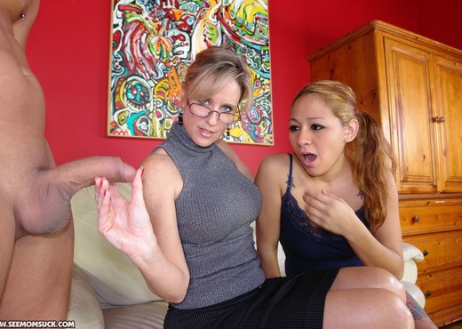 Jodi West - Mrs. West - See Moms Suck - Blowjob Nude Pics