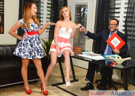 Alex Tanner & Dani Jensen - Naughty Rich Girls - Hardcore Sexy Gallery