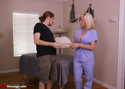 Parker Swayze: Totrured and Titillated - Mean Massage - Hardcore Picture Gallery