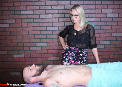 Vicky Vixxx: Tied and Bound - Mean Massage - Hardcore Nude Pics