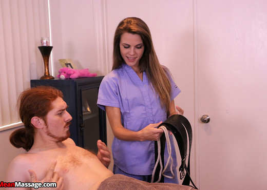 Ally Tate: Aching to Ejaculate - Mean Massage - Hardcore Nude Gallery