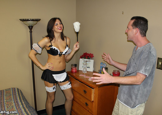 Cherry Poppins - Clean My Cock - ClubTug - Hardcore HD Gallery
