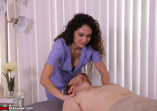 Jessica Torres: Edging His Monster Cock - Mean Massage - Hardcore Nude Pics