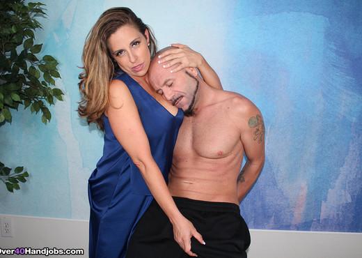 Sienna Lopez : Milk My Monster Cock - Over 40 Handjobs - MILF Image Gallery