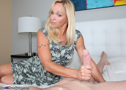 Beating My Big Dick with Dani Dare - Over 40 Handjobs - MILF Picture Gallery