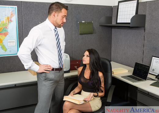 Raven Bay - Naughty Office - Hardcore Sexy Photo Gallery
