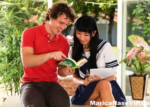 Marica Hase gets an English Lesson with a twist - Asian Picture Gallery