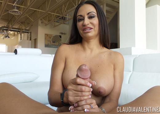 Claudia Valentine in Huge Cock Hand Job - Hardcore Picture Gallery