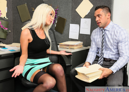 Riley Jenner - Naughty Office - Hardcore HD Gallery