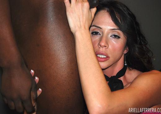Ariella Ferrera in Big Cock 3 Way Interracial - Interracial Hot Gallery