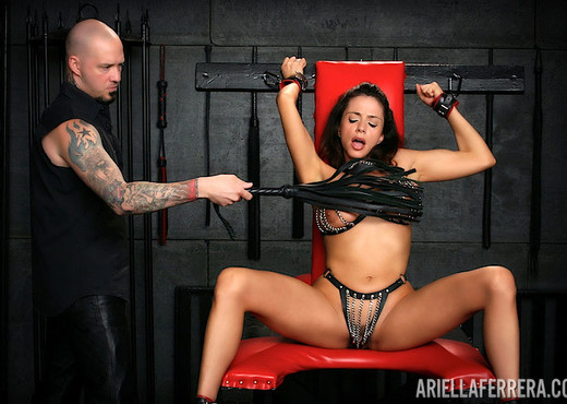 Ariella Ferrera in Mistreated By My Master - BDSM Nude Gallery