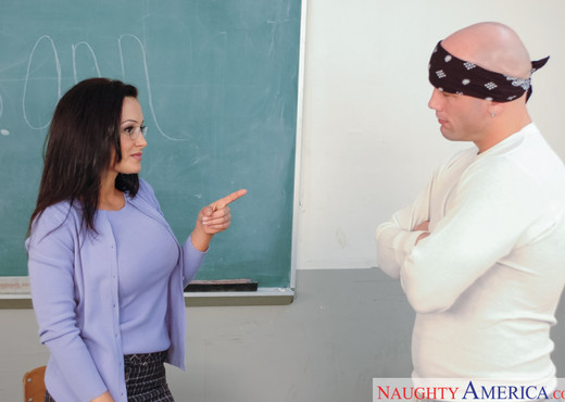Lisa Ann - My First Sex Teacher - Hardcore Nude Pics