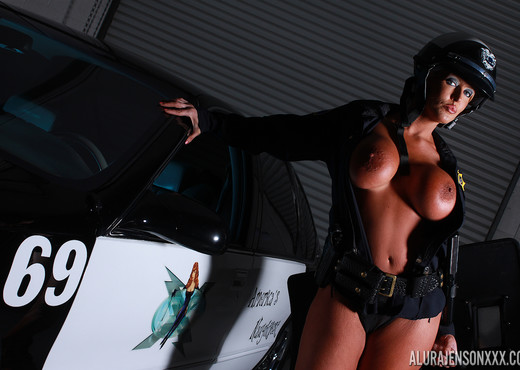 Alura Jenson in Patrolling The Streets - MILF Image Gallery