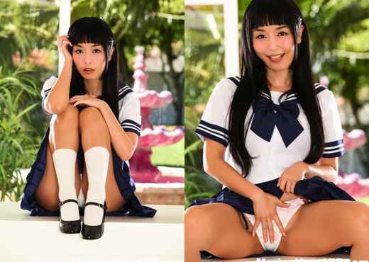 Marica the sexy schoolgirl - Marica Hase - Asian HD Gallery