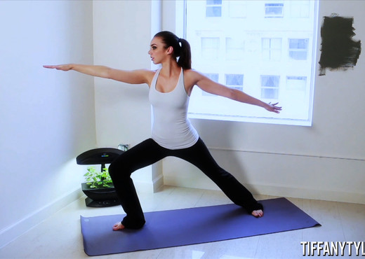 Tiffany Tyler in Yoga Master - Solo TGP