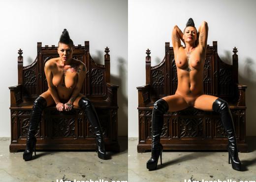 MILF Jezebelle poses in sexy black lingerie - Jezebelle Bond - MILF Porn Gallery