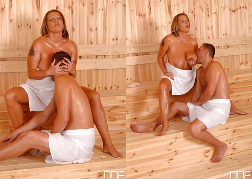 Laura Orsolya aka Laura M. - Encounter in a sauna - Hardcore Sexy Photo Gallery