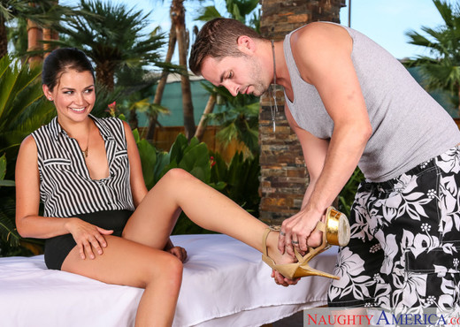 Allie Haze - My Naughty Massage - Hardcore Image Gallery