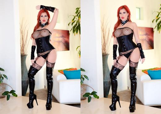 Savana Styles - Buxom MILF Redhead: Orgasmic Butt Fuck - MILF HD Gallery