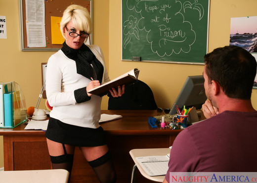 Mrs. Storm - My First Sex Teacher - Hardcore Porn Gallery