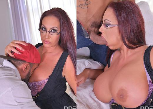 Massive Tits Jizzed On: Handyman Fucks Busty Brit's Big Boob - Boobs Porn Gallery