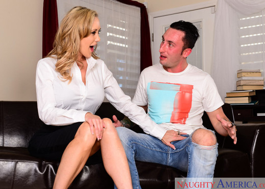 Brandi Love - My First Sex Teacher - MILF Sexy Gallery