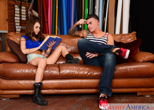 Riley Reid - Naughty Bookworms - Hardcore Nude Gallery