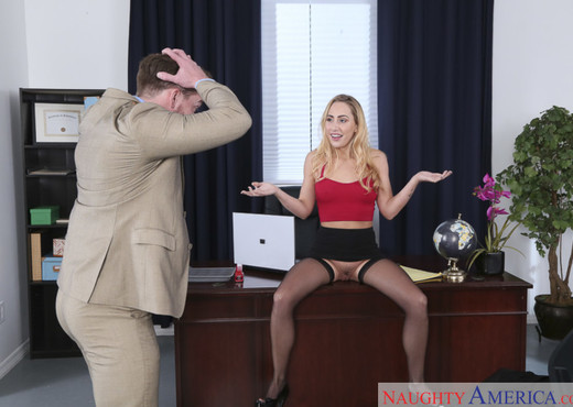 Carter Cruise - Naughty Office - Hardcore Nude Pics