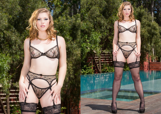 Ella Nova Gets DP'd, That Ass Can Handle It - Hardcore Nude Gallery